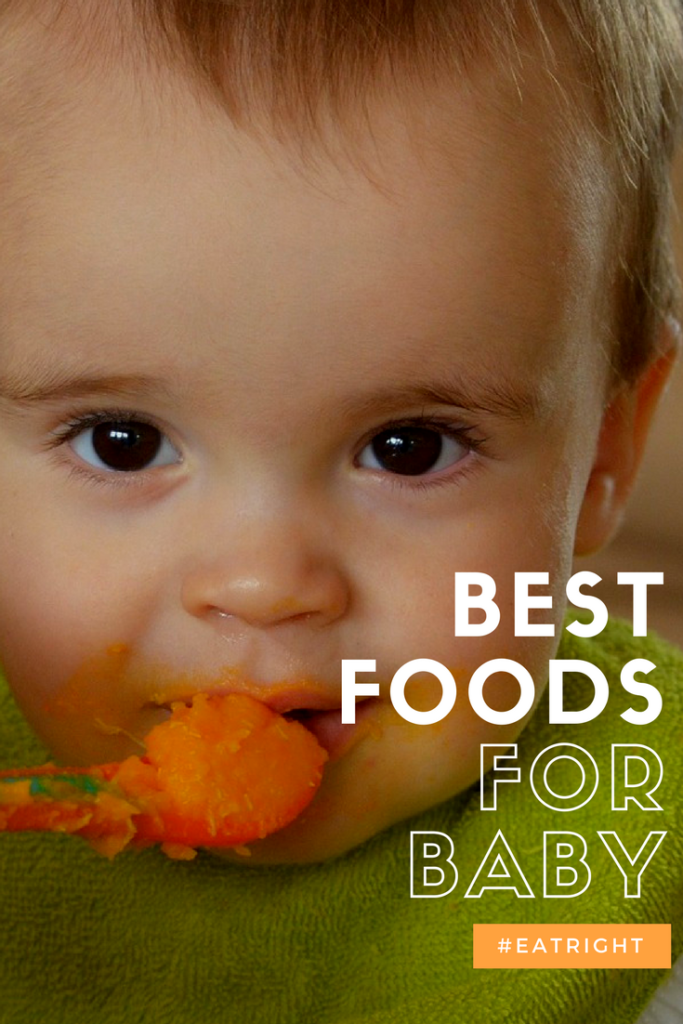 The best foods for babies