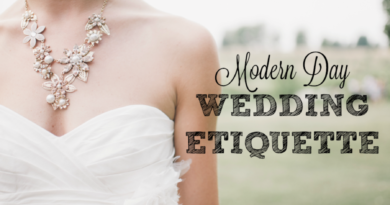 modern day wedding etiquette