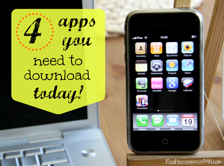 4 apps you need to download today