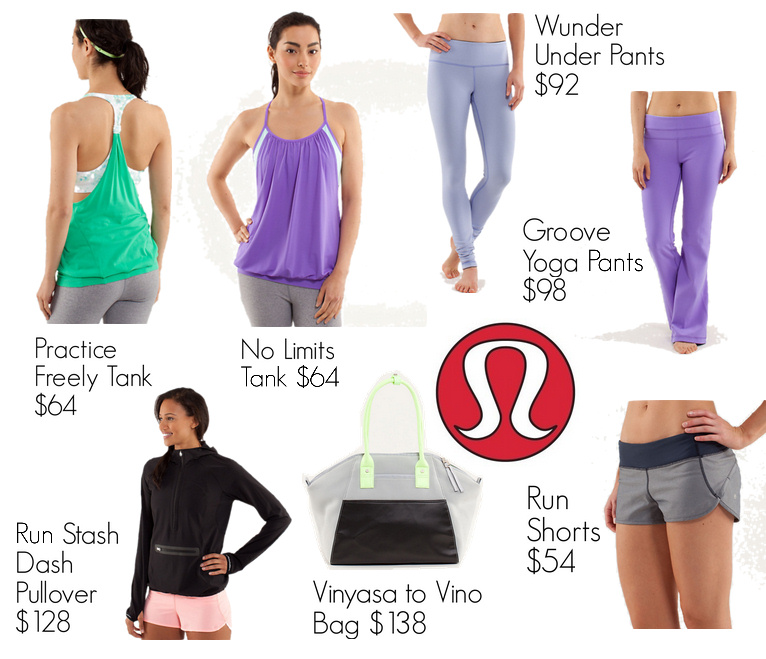 best lululemon items