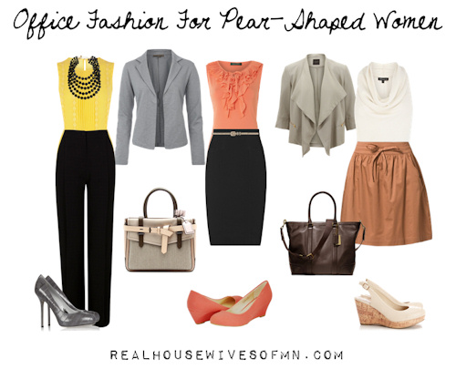 outfits for pear shaped women