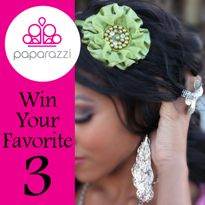 win three pieces of jewelry - your choice