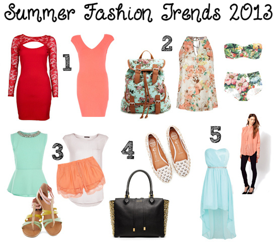 summer fashion trends 2013