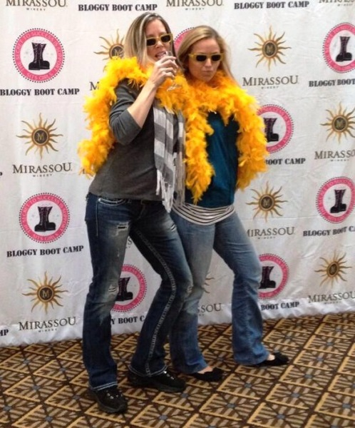 bloggy boot camp photo booth