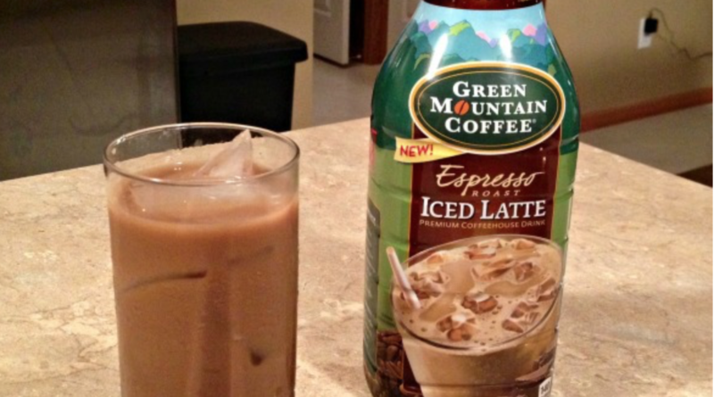 green mountain iced latte