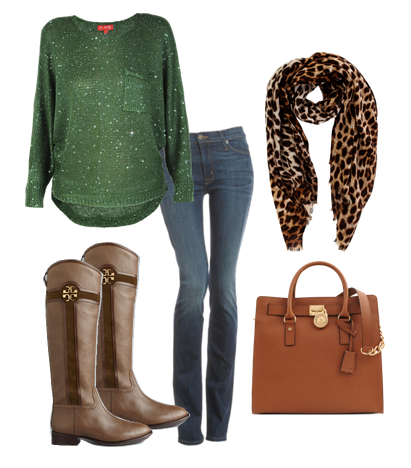 winter fashion look one