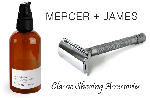 mercer and james shaving accessories