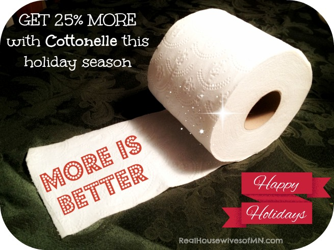 more is better cottonelle holidays #shop