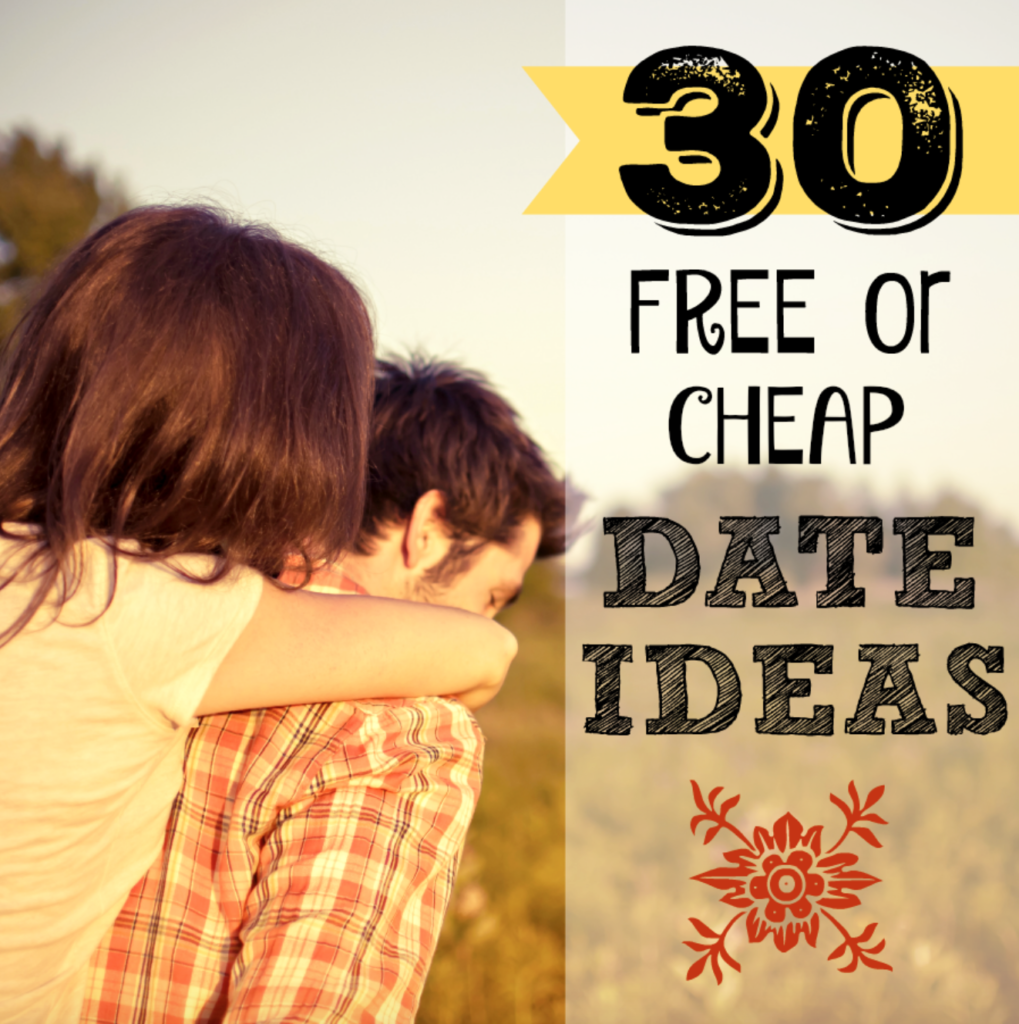30 free or cheap date ideas for couples