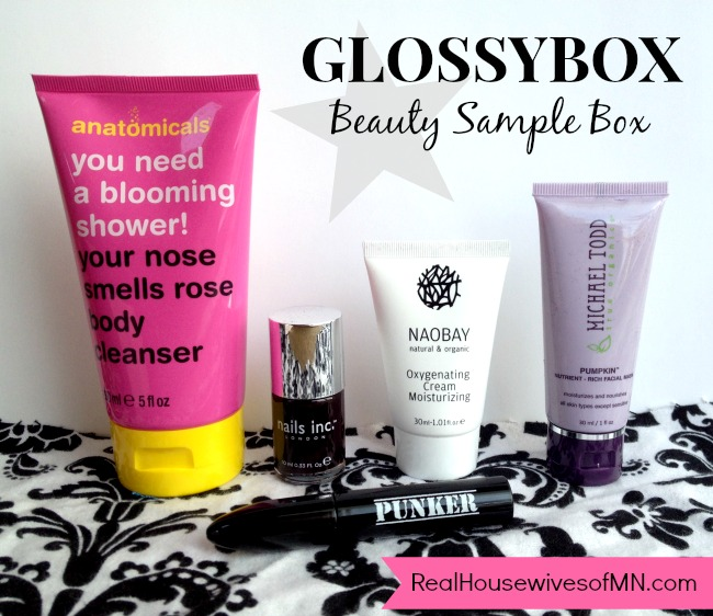 december 2013 beauty box samples