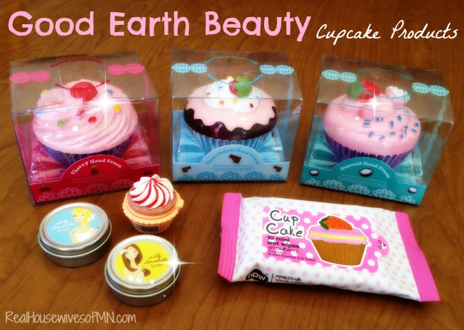 good earth beauty cupcake products #shop