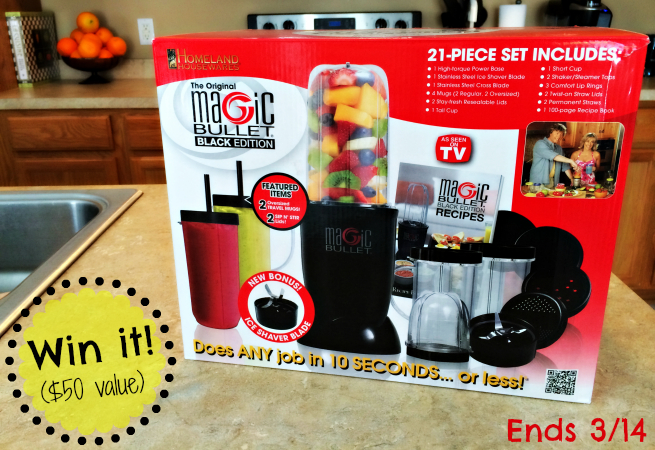 Enter to win a magic bullet from Fairlife! Ends 3-14 #shop