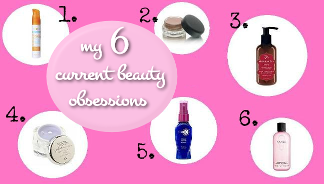 My Current Beauty Must-Haves
