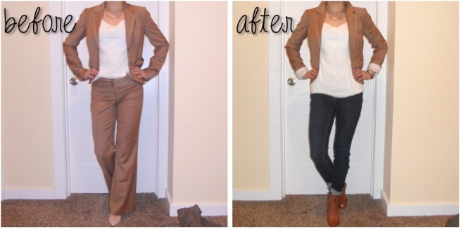 before and after style fix #shop
