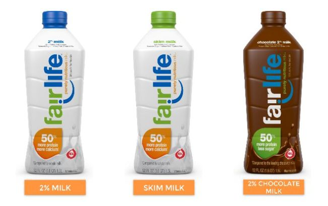 fairlife milk selection