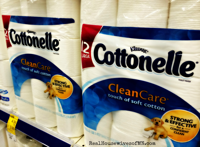 Sponsored Cottonelle Clean Care Toilet Paper
