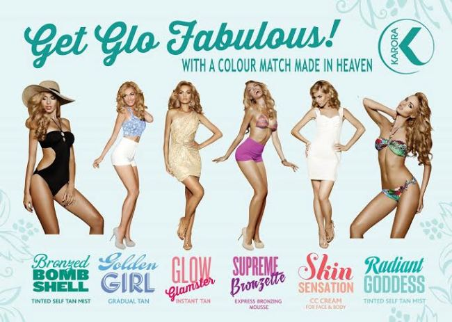 Get Glo Fabulous with Karora #shop