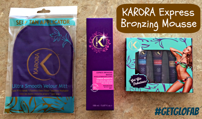 KARORA Express Bronzing Mousse #shop