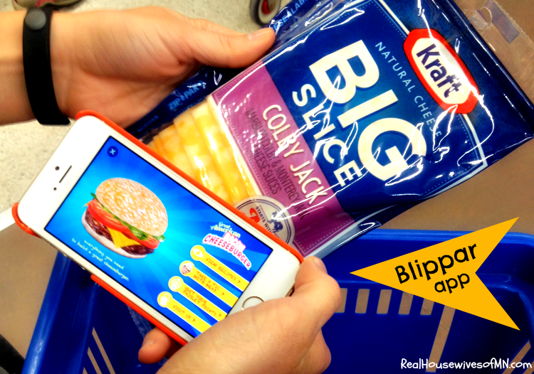Kraft Blippar App for Mobile #shop