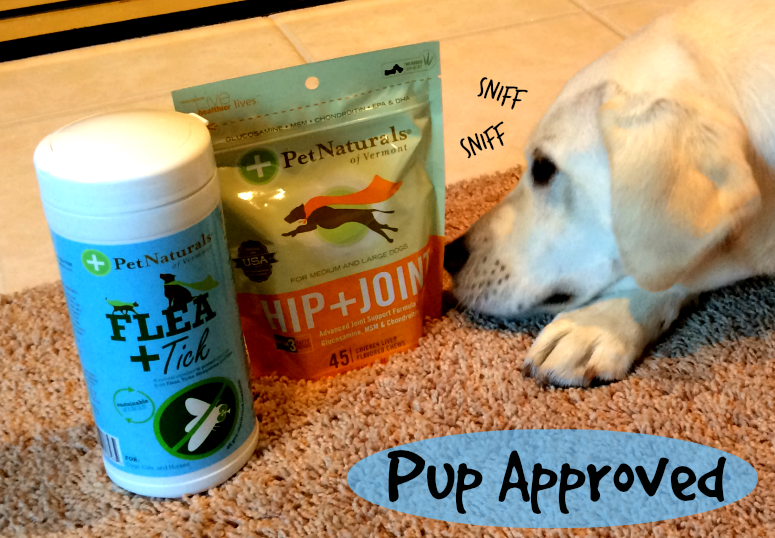 Pet Naturals are Pup Approved