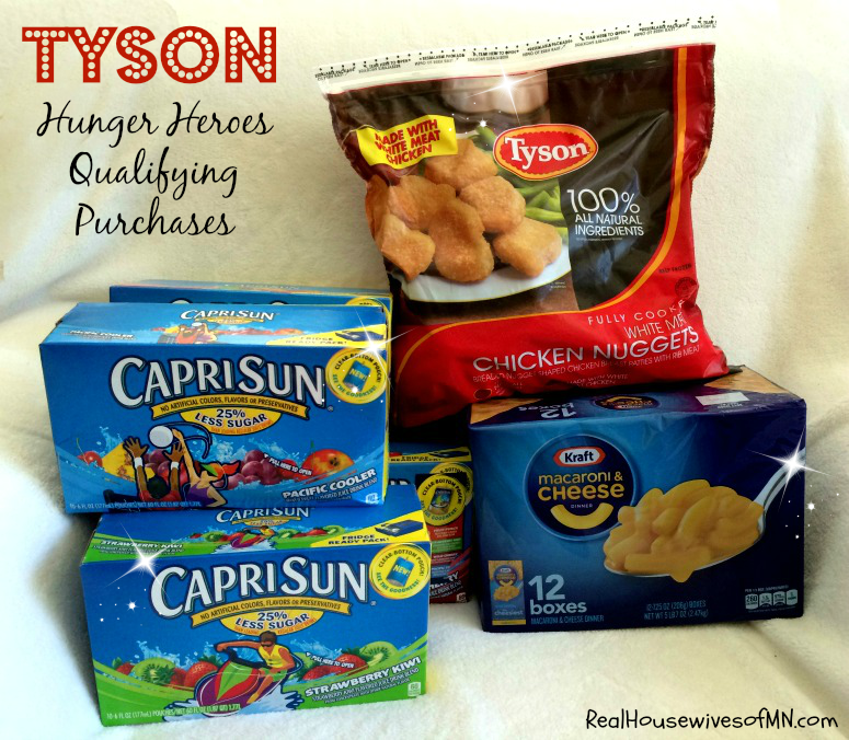 Tyson Kraft Hunger Hero Items #shop