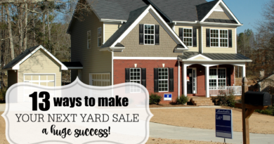 13 tips from the pros on how to make your garage sale a huge success