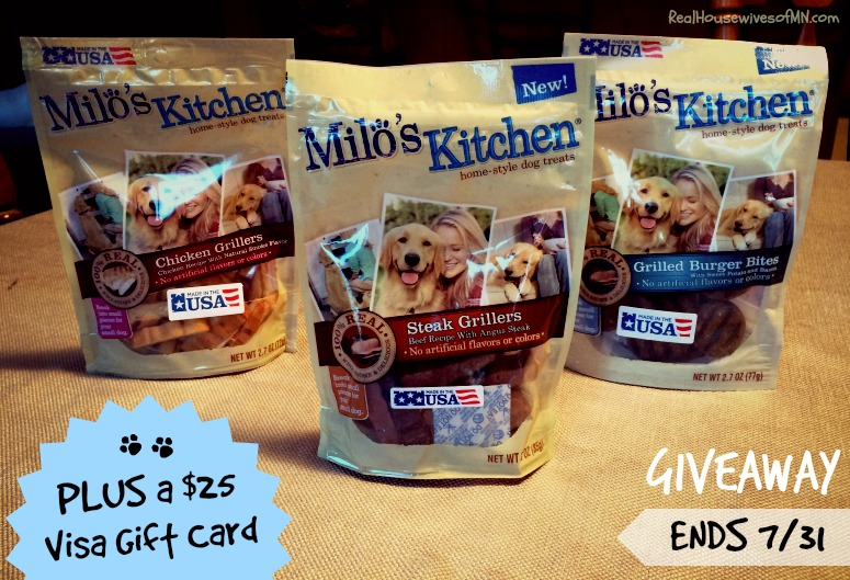 Milo's Kitchen Dog Treat Giveaway #shop