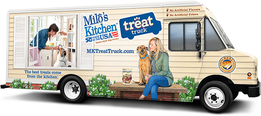 Milo's Kitchen Treat Truck #shop
