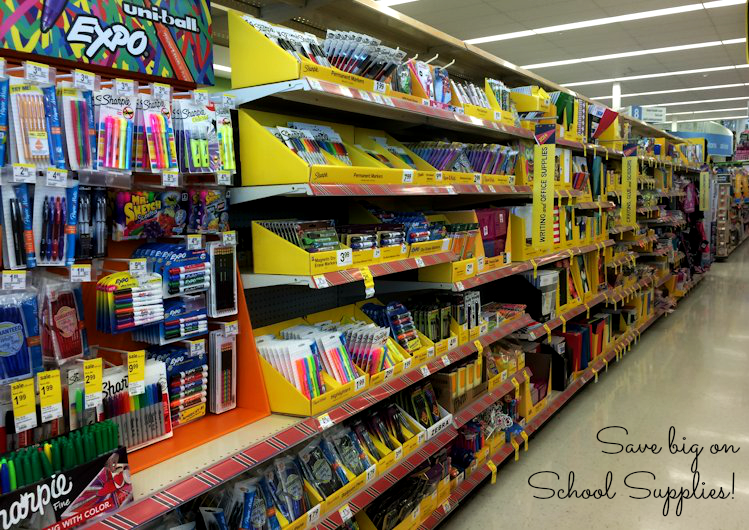 Save on School Supplies at Walgreens #shop