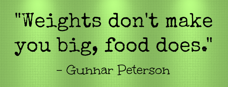 Gunnar Peterson Quote #ad