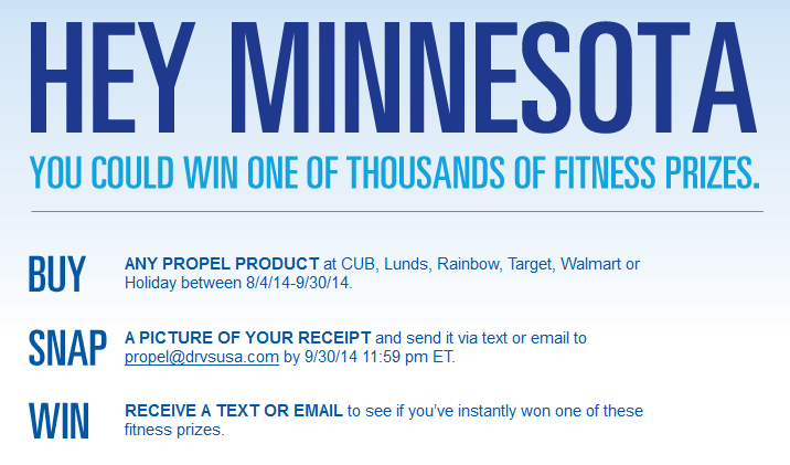 Propel in Minnesota #shop