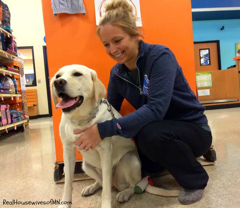 Luna visits Banfield #shop