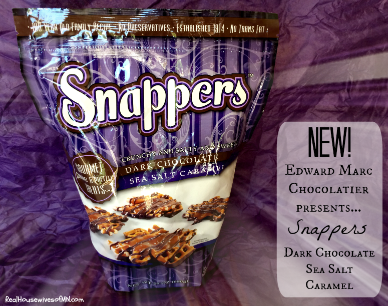 Snappers Dark Chocolate Sea Salt Caramel #shop