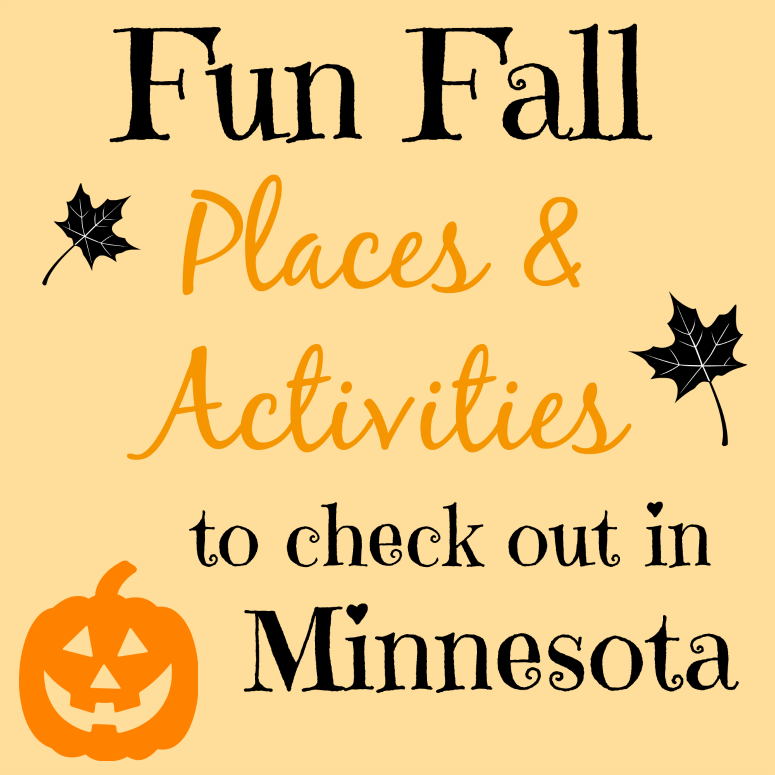 Fun fall places and activities in mn