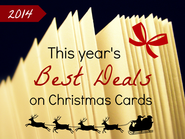 this year's best deals on christmas cards
