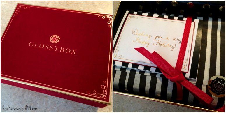 glossybox holiday box 2014