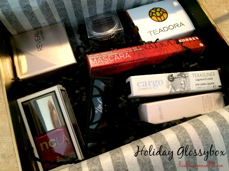 holiday glossybox 2014