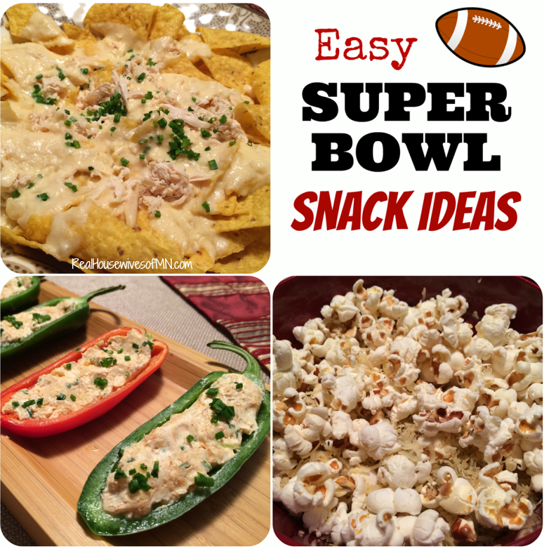 Easy Super Bowl Snack Ideas