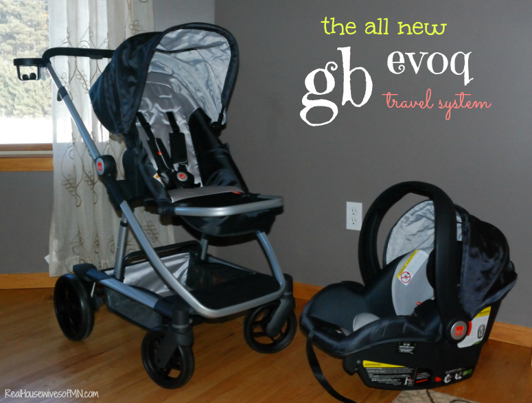 The GB Evoq 4-in-1 Travel System Review - Real Housewives of Minnesota