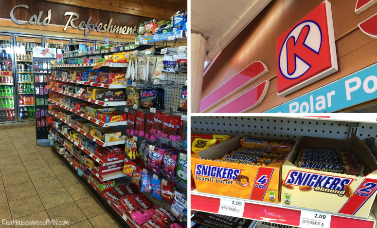 Circle K Snickers #ad