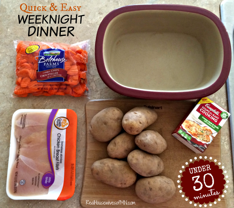 Quick and easy weeknight dinner in under 30 minutes #shop