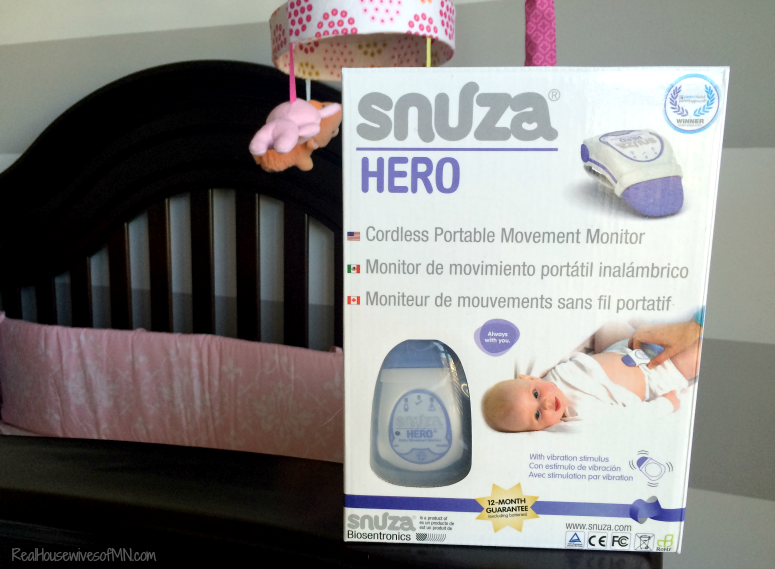 Snuza Hero Baby Monitor Review Giveaway