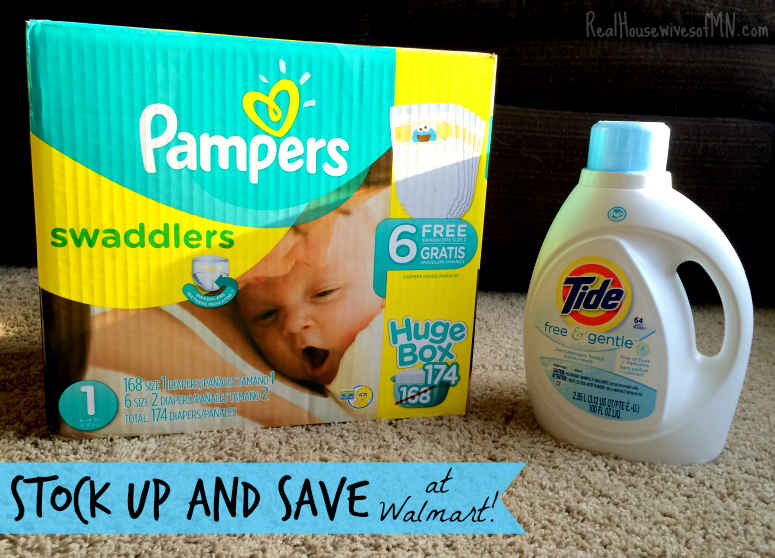Stock up and save event at Walmart #ad