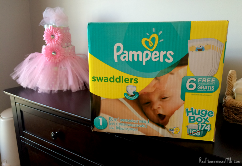 Stock up and save on Pampers #ad