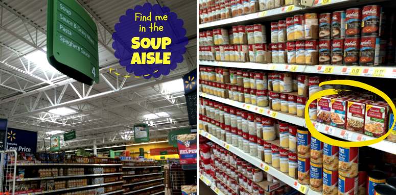 Where are campbells soups for easy cooking #shop