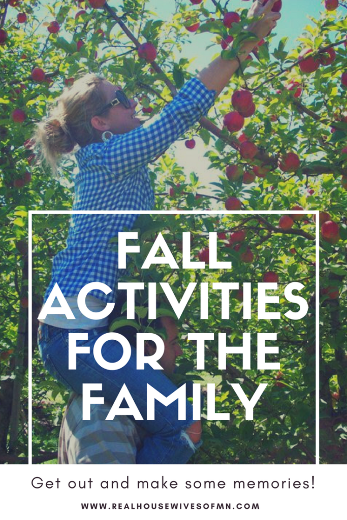 Fun fall activities list for the family - listed by state!