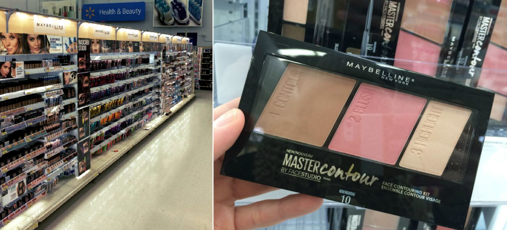 maybelline at walmart #ad