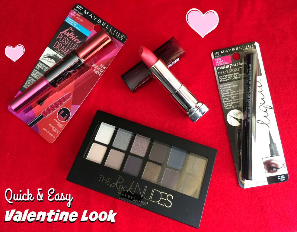 quick and easy valentine look #ad