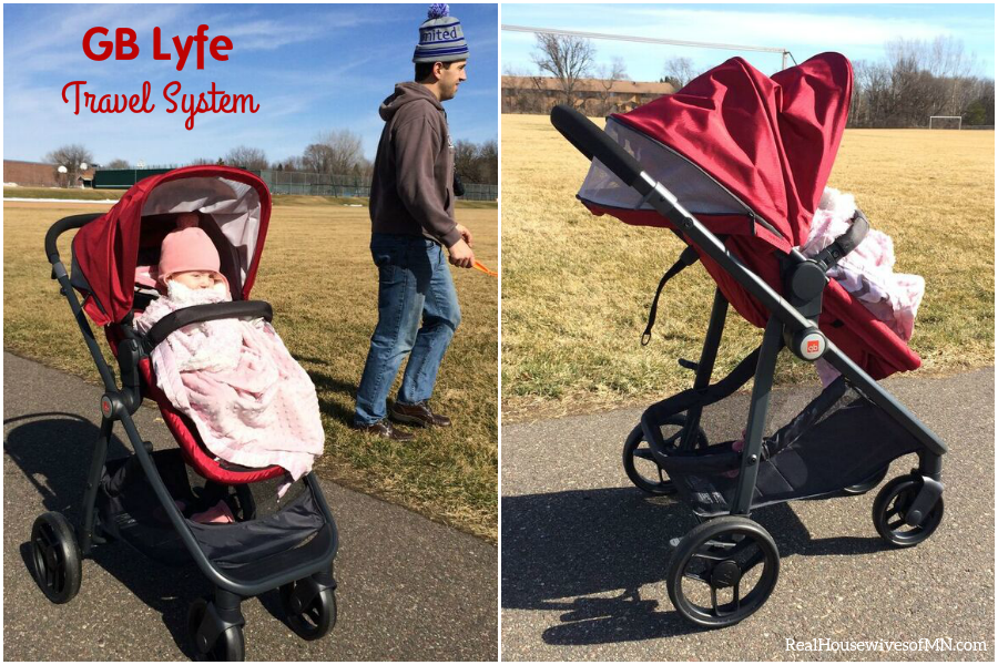 Testing Out the New GB Lyfe Travel System - Real Housewives of ...
