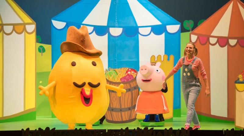 Peppa pig live in minneapolis 2016